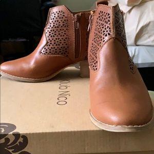 Klub Nico Mod Britney Brandy Leather Boots